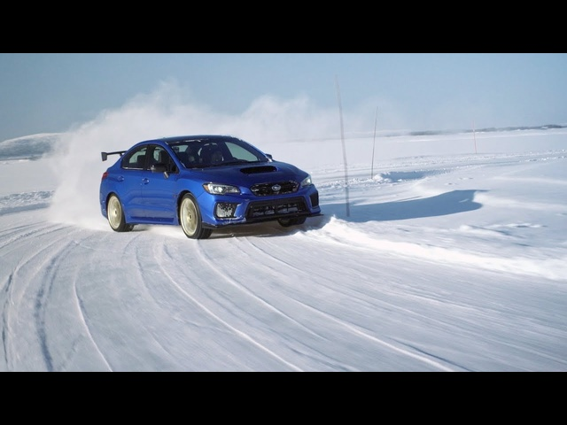 Lapland Ice Driving the Subaru RA — Ignition Preview Ep.192