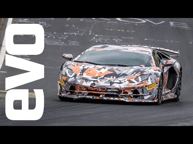 Lamborghini Aventador SVJ laps the Nurburgring in 6:44.97