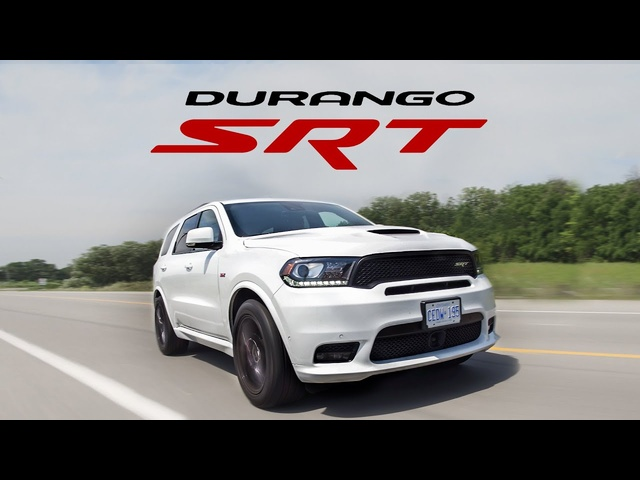 2018 <em>Dodge</em> Durango SRT Review - Big and Loud