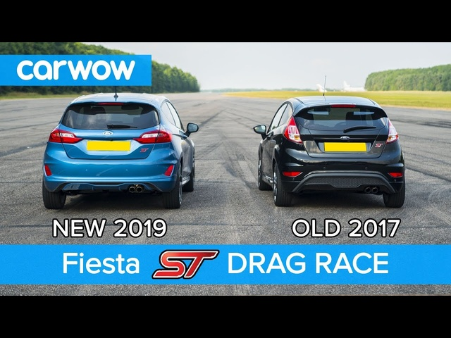 New <em>Ford</em> Fiesta ST 1.5 vs old 1.6 ST DRAG RACE & ROLLING RACE | carwow