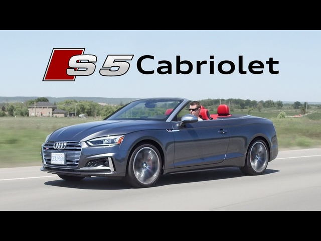 2018 <em>Audi</em> S5 Cabriolet Review - Topless Turbo Fun
