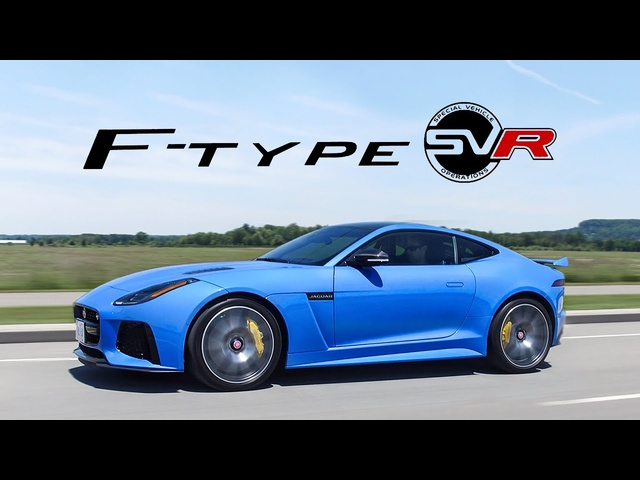 2018 Jaguar F-Type SVR Review - LOUDEST, BEST, POP POP, BBBWWAAAAA EXHAUST NOT CLICKBAIT