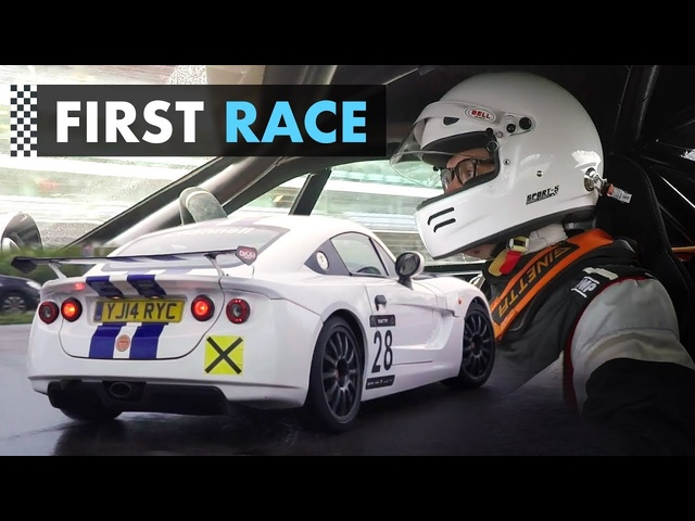 My First Ever RACE: Becoming A Racing Driver, Episode 4 - Carfection