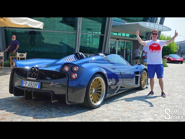 Gumball 3000 Visits the PAGANI Factory!