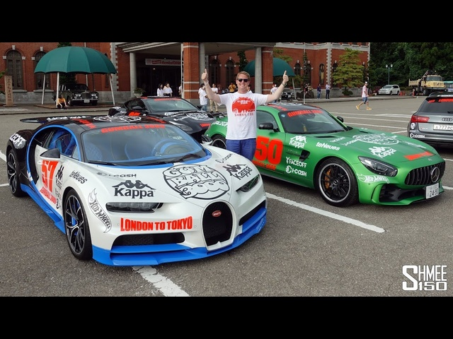 Gumball 3000 Madness! Donuts, Usher and a Land Slide