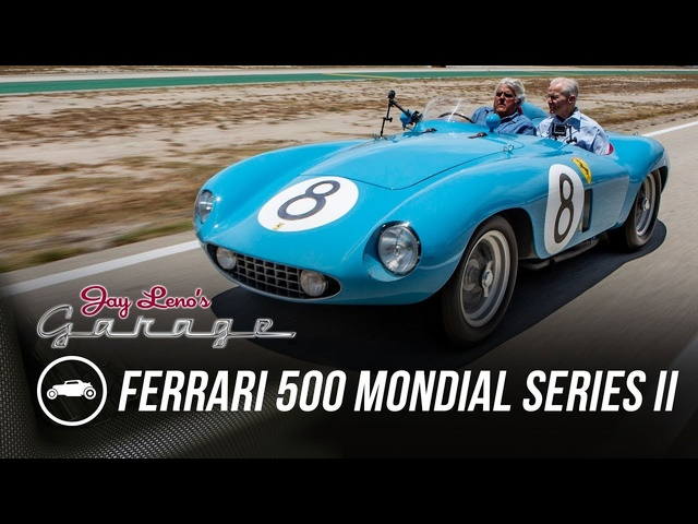 1955 Ferrari 500 Mondial Series II -Jay Leno's Garage
