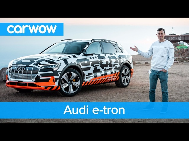 <em>Audi</em> e-tron - you'll be amazed how much it can recharge rolling downhill | carwow