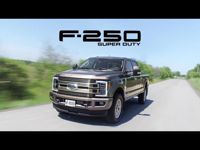 2018 <em>Ford</em> F250 Super Duty Review - Tons of Torque
