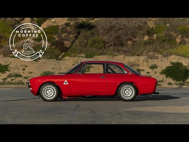 Wake Up With An Espresso Shot Of Alfa Romeo GTV