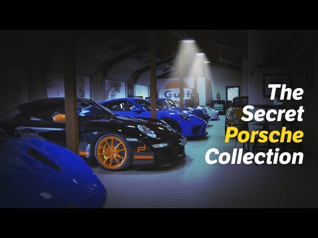 This Lady Built A Secret <em>Porsche</em> Collection