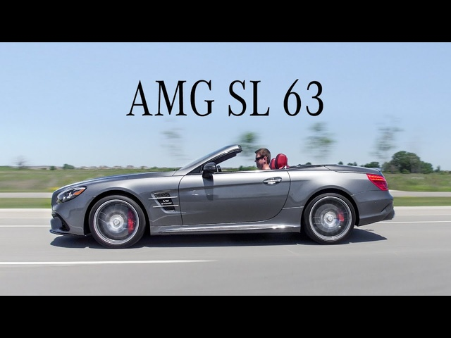 2018 <em>Mercedes</em>-AMG SL63 Review - Roadster With More Power Than An AMG GT-R