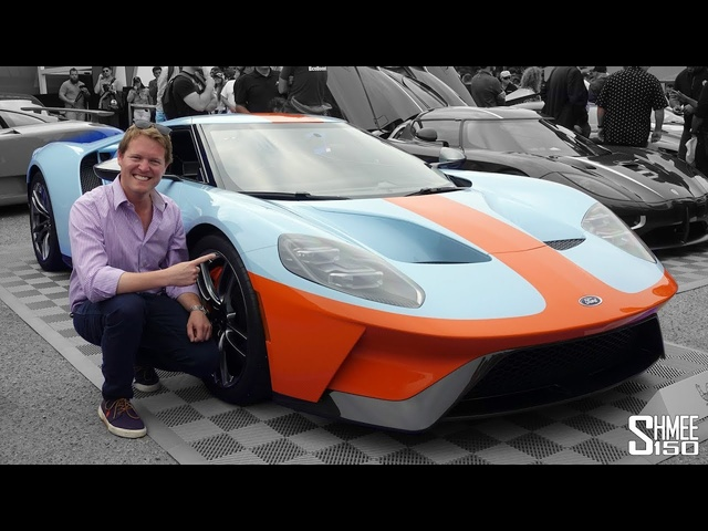 Let's Ride in the NEW Gulf Ford GT to the Craziest Car Event!
