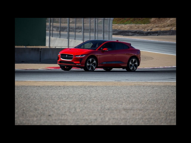 Jaguar I-Pace at Rolex Monterey Motorsport Reunion