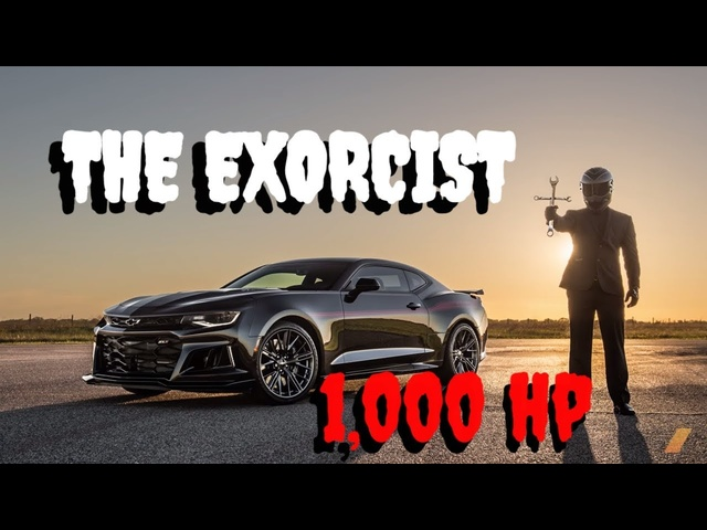Hennessey Exorcist Camaro 1,000 hp and LOUD