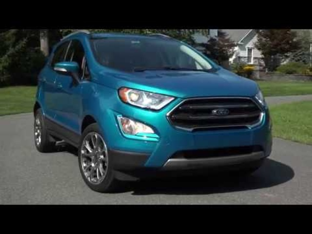 2018 Ford EcoSport | Ready for America? | TestDriveNow
