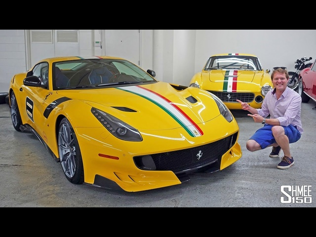 <em>Ferrari</em> Collector David Lee's F12 TDF is STUNNING! | TEST DRIVE