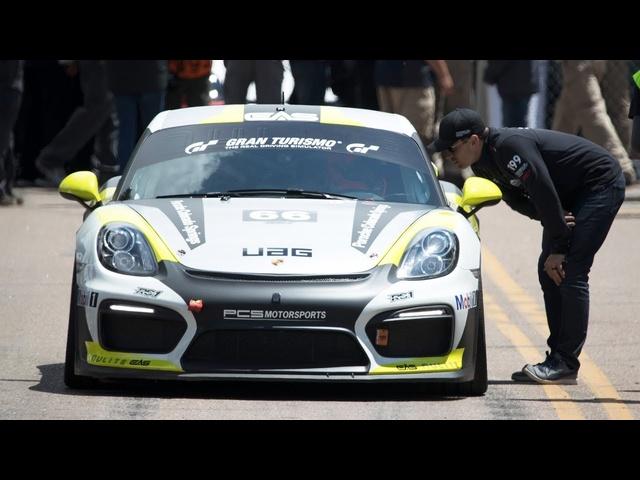J.R. Hildebrand + <em>Porsche</em> Pikes Peak Challenge