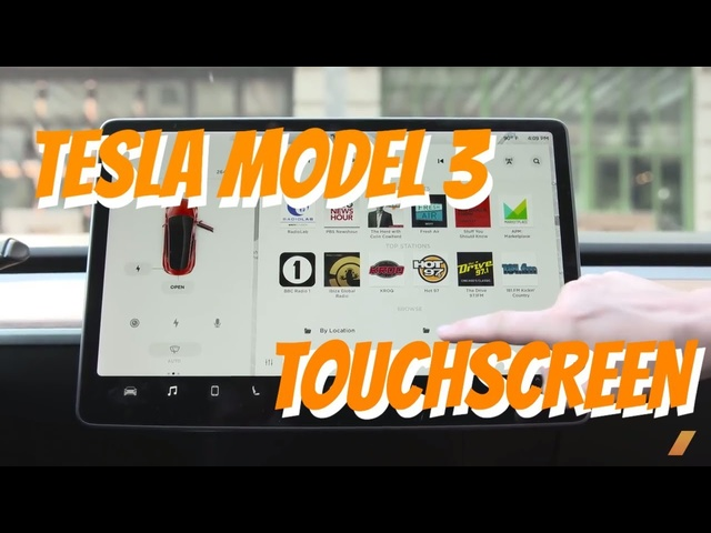 <em>Tesla</em> Model 3 Touch Screen Tour for The Screen-Challenged