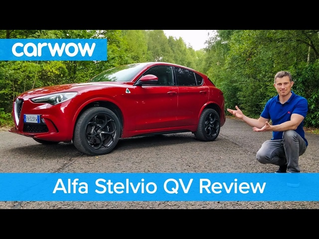 Alfa Stelvio Quadrifoglio 510hp review - see why it's the ONLY fun SUV | carwow