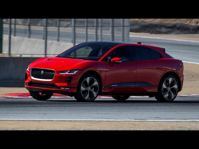 All new 2019 I-PACE HSE FIRST EDITION HOT LAP at Laguna Seca