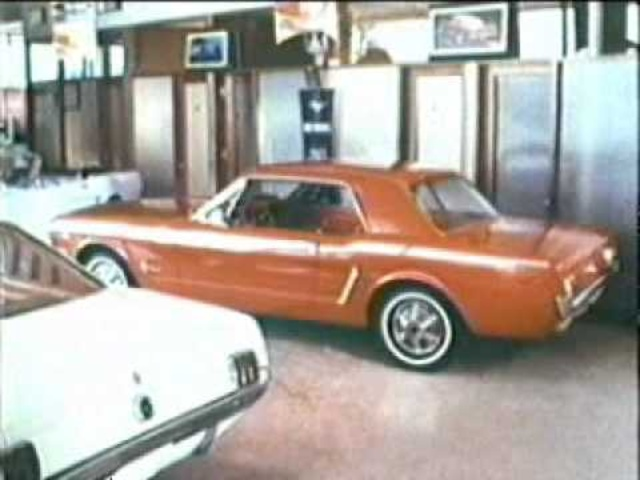 1965 Ford Mustang Commercial