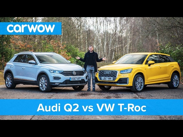 VW T-Roc vs <em>Audi</em> Q2 review - which is best? | carwow