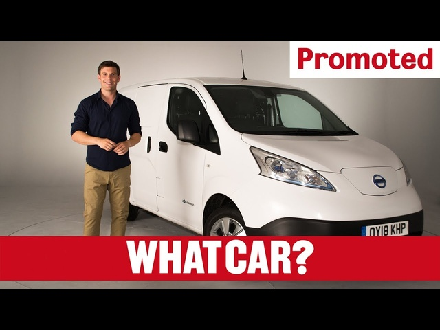 Promoted: The all-electric Nissan e-NV200 van