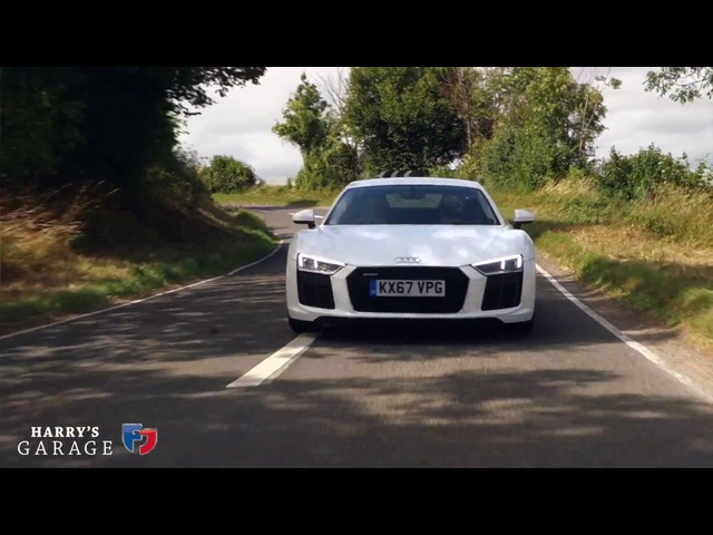 <em>Audi</em> R8 V10 RWS real world review