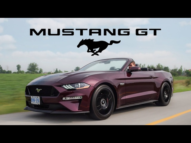 2018 Ford Mustang GT Convertible Review - HUGE Improvement Over 2017
