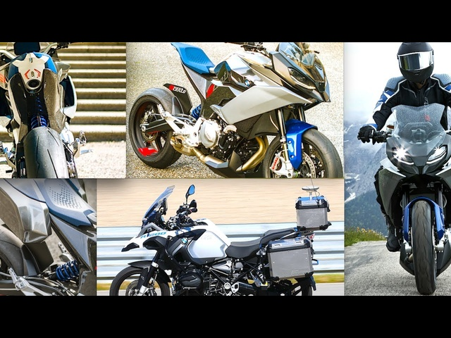 BMW Self Driving Motorbike | BMW Concept 9cento Motorbike World Premiere Video BMW Autonomous CARJAM