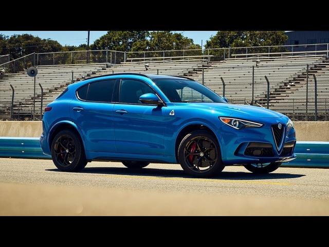 Best Driver's Car Contender: 2018 Alfa Romeo Stelvio Q4 Quadrifoglio