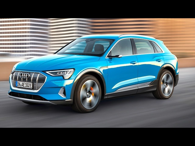 Audi e-tron All Electric 5 Key <em>Tesla</em> Beating Features On Sale World Premiere Audi Electric SUV Video