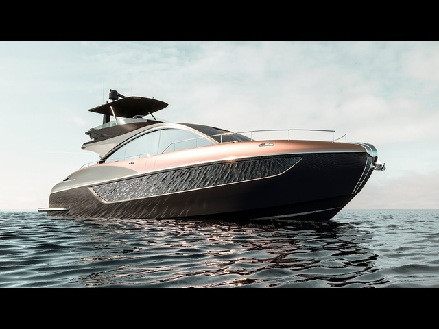 Lexus LY 650 Luxury Superyacht World Premiere Vi<em>de</em>o New Lexus Boat 2019 CARJAM