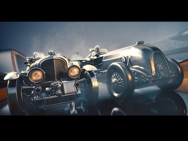 New Bentley 100 Years Brand Commercial World Premiere Video Bentley Centenary Gold CARJAM