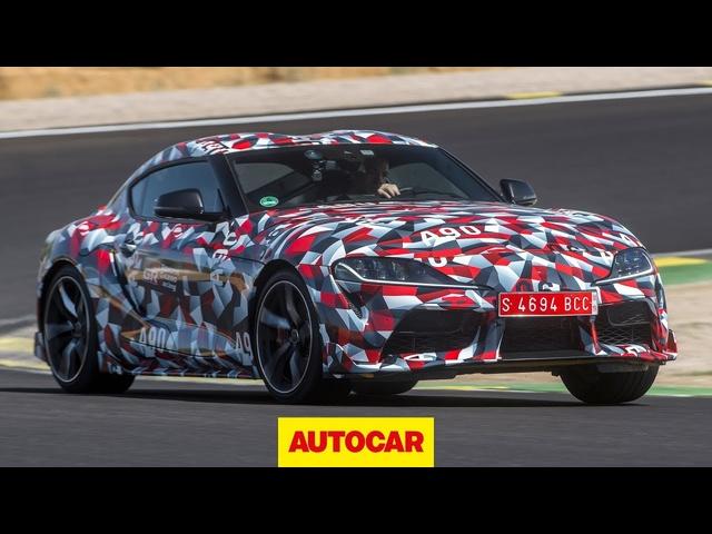 Toyota Supra 2019 review | Cayman rival prototype driven | Autocar