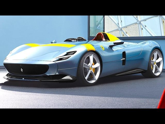 Ferrari Monza SP1 World Premiere Live Maranello 2019 Ferrari ICONA Car CARJAM