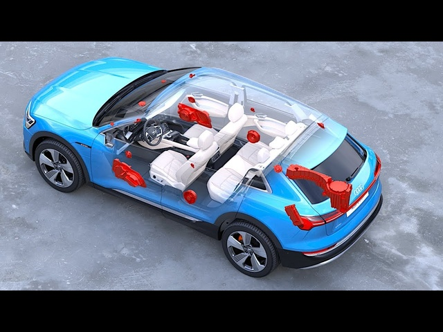 Audi etron Interior In <em>De</em>tail World Premiere Audi Electric SUV Interior Options Vi<em>de</em>o CARJAM