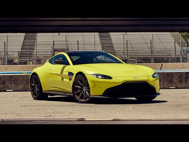 Best Driver's Car Contender: 2019 Aston Martin Vantage