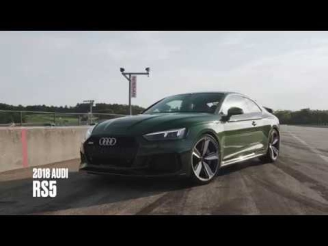 Audi RS5 at Lightning Lap 2018