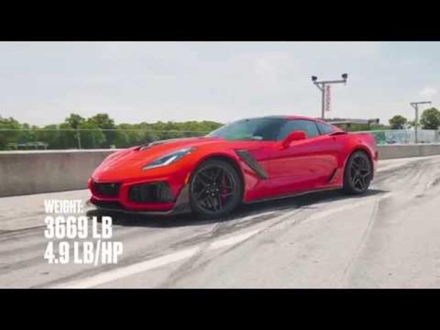 <em>Chevrolet</em> Corvette ZR1 at Lightning Lap 2018