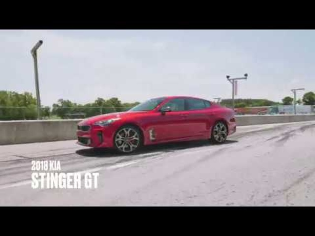 Kia Stinger GT at Lightning Lap 2018