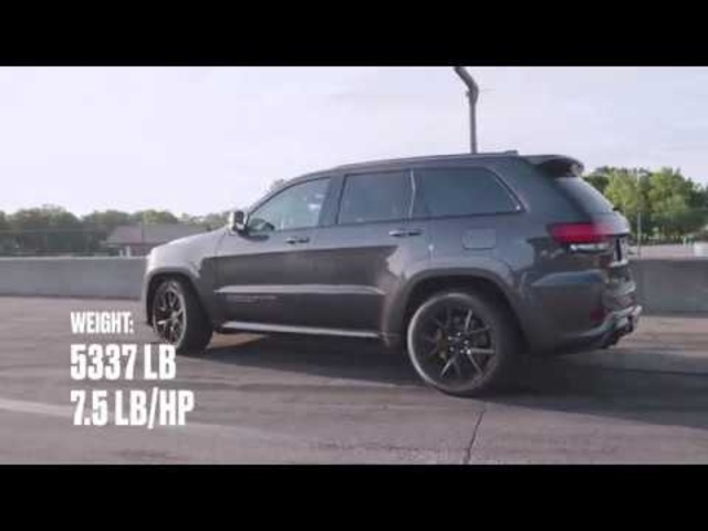 Jeep Grand Cherokee Trackhawk at Lightning Lap 2018