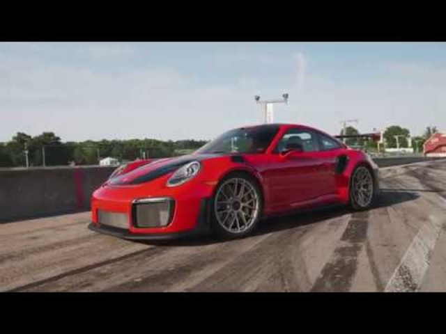 Porsche 911 GT2 RS at Lightning Lap 2018