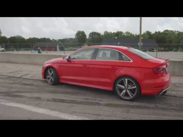 Audi RS3 at Lightning Lap 2018