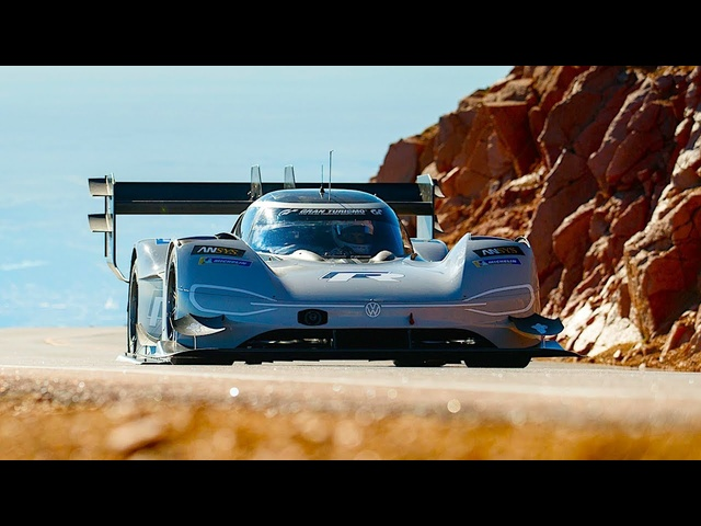 Amazing Pikes Peak VW IDR Record Breaking Video Full Length Live 2018 VW Electric CARJAM
