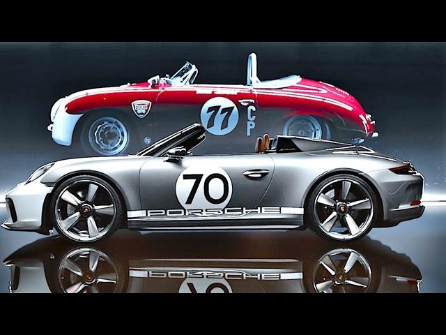 Porsche Speedster 911 GT3 2019 Commercial World Premiere Porsche 911 GT3 Based CARJAM