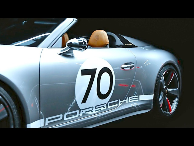 2019 Porsche Speedster INTERIOR Video World Premiere Porsche 911 GT3 Based CARJAM