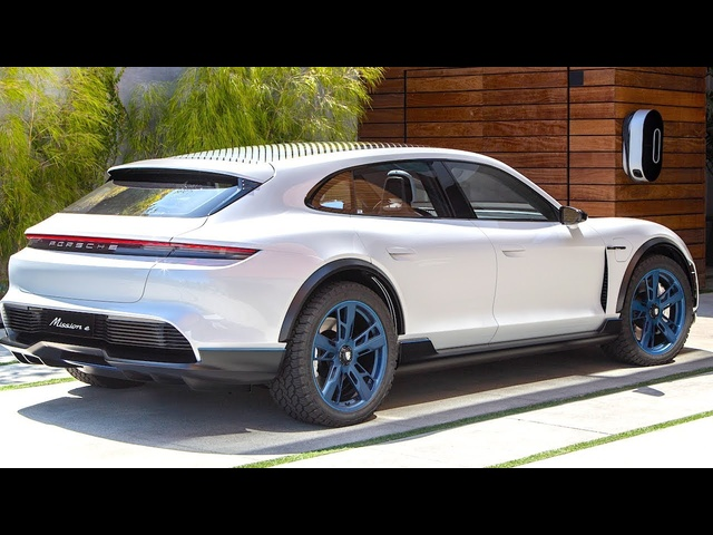 Porsche Taycan Review Update 2019 Video More Detail Electric Porsche Mission E Cross Turismo