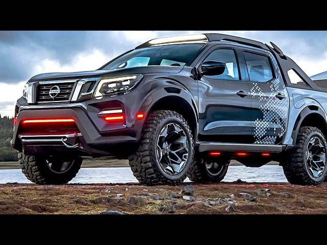2019 Nissan Navara Dark Sky Space Hunter World Premiere 2019 Nissan Pick Up Truck Concept CARJAM