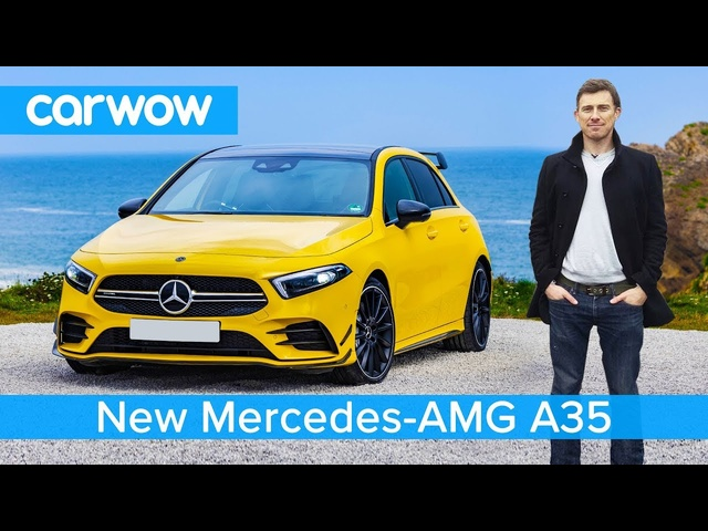 New Mercedes-AMG A35 - better than a VW Golf R and <em>Audi</em> S3?